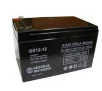Аккумулятор 12В 12А/ч GS (4шт/коробка)