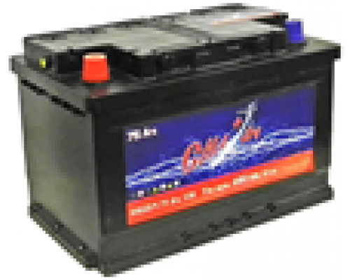 Автомобильные аккумуляторы СИЛ 77Ач EN700А п.п. (278х175х190, B13) Прямая полярность