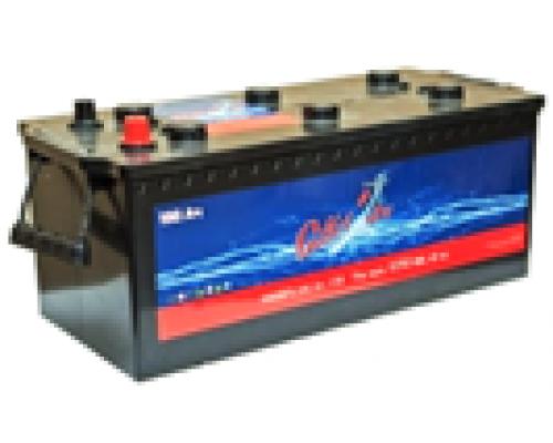 Автомобильные грузовые аккумуляторы СИЛ 190Ач EN1150А о.п. (513х223х223, B00, ПК) Камаз, клемма-болт Обратная полярность